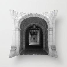 Ann Arbor Michigan Archway Throw Pillow