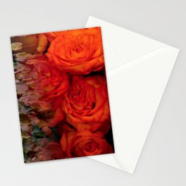 Fire and Water by Lika Ramati Stationery Cards