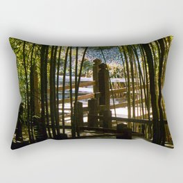 Through The Bamboo Rectangular Pillow