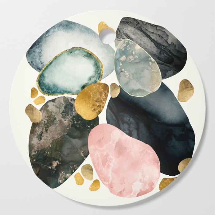 Pebble Abstract Cutting Board