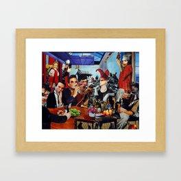 The Next Supper Framed Art Print