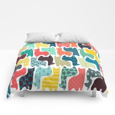 baby llamas Comforters