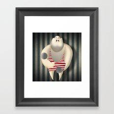 Mr Strong Framed Art Print