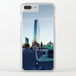 City. Clear iPhone Case