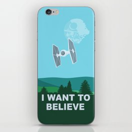 I WANT TO BELIEVE - Star Wars iPhone Skin