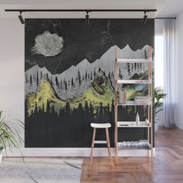 Silicone Mountains Wall Mural