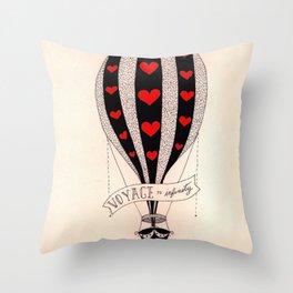 Voyage to Infinity Throw Pillow