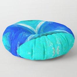 483 - Abstract colour design Floor Pillow