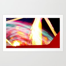 Lights at the Fair Art Print