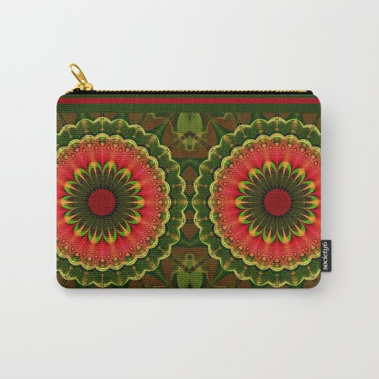Winter mood, Abstract pattern design Carry-All Pouch