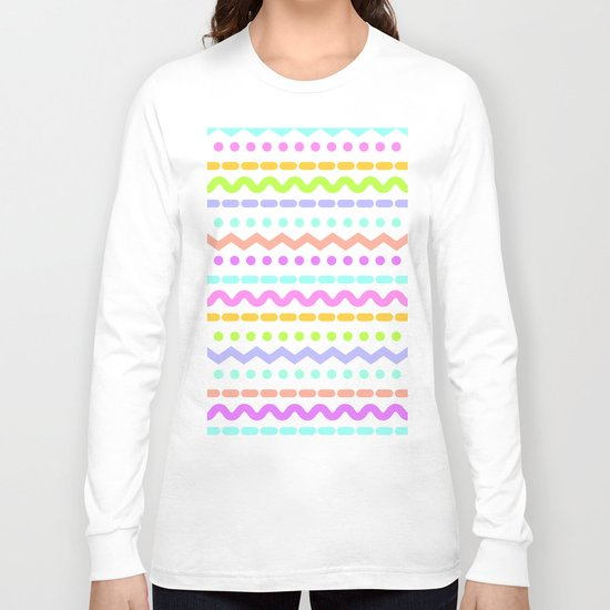 Color line 4 Long Sleeve T-shirt