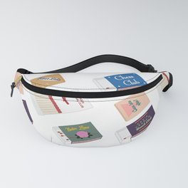 Playing With Fire Print Fanny Pack