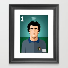 Zoff 1982 Framed Art Print