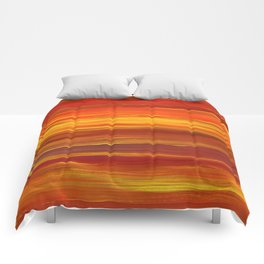 Sunset stratum Comforters
