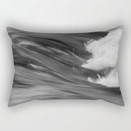 Smooth Turbulence Rectangular Pillow