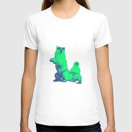 Ours Republique green T-shirt