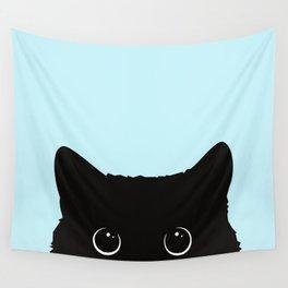 Black cat I Wall Tapestry