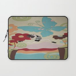 Leap of Faith - painting - Wild Veda Laptop Sleeve