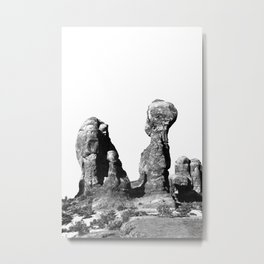 Sandstone Goblins Metal Print
