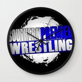Southern Premier Wrestling Logo Wall Clock
