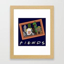 Fiends Framed Art Print