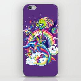 Rainbow Apocalypse iPhone Skin
