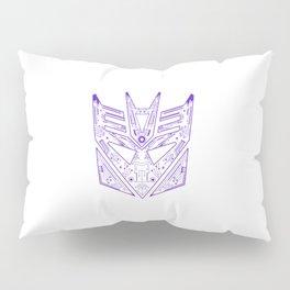 Decepticon Tech Purple Pillow Sham