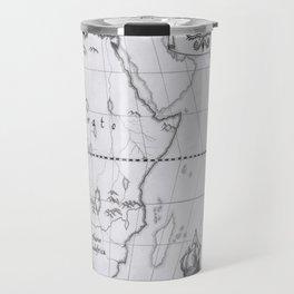 2062: African map Travel Mug