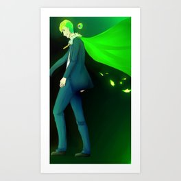Super Boss Mode Jack Art Print