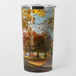 Crazy Fall Travel Mug