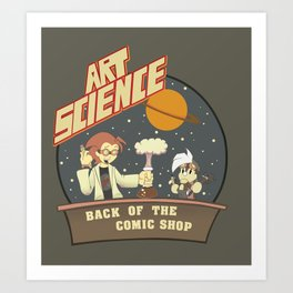 Art Science Art Print