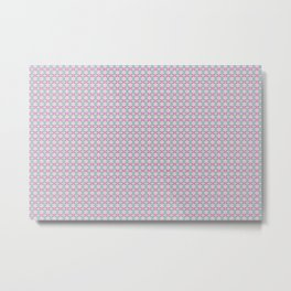 Tango In The Attic x Fraser Stephen 'Crushed Up' Geometric Print Metal Print