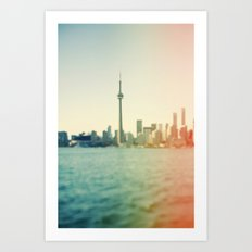 Shades Of The City Art Print