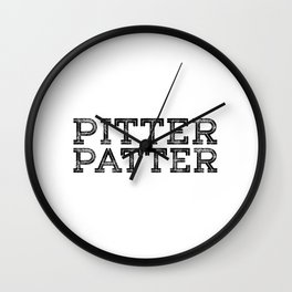 PITTER PATTER Wall Clock