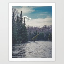 Nothing But A Memory Art Print