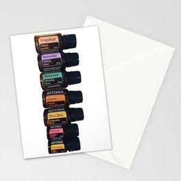 Essential oils holistic Stationery Cards