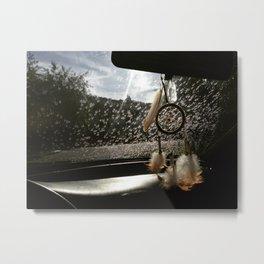 Driving Dreamer Metal Print