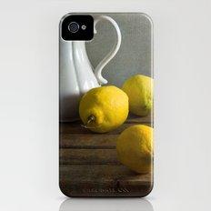 Three lemons iPhone (4, 4s) Slim Case
