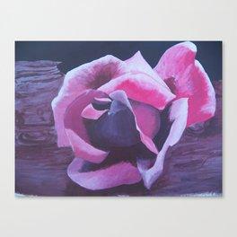 roseondriftwood Canvas Print