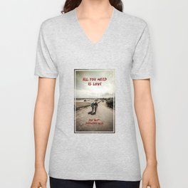 all you need is wifi Unisex V-Neck
