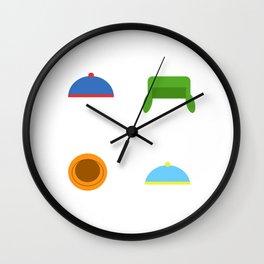 Stan Kyle Cartman Kenny Wall Clock