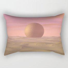 Desert Dream of Geometric Proportions Rectangular Pillow