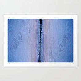 Bridge Between Art Print