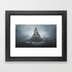 White Castle Framed Art Print