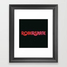 Rollerskate Framed Art Print