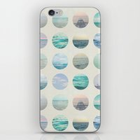 polka dot iPhone & iPod Skins featuring Ocean Polka dot  by Pure Nature Photos