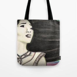 Painting the Wind Tote Bag