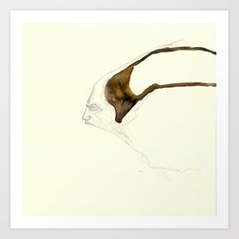 UnHuman#01 Art Print