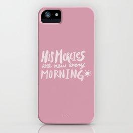 Mercy Morning x Rose iPhone Case