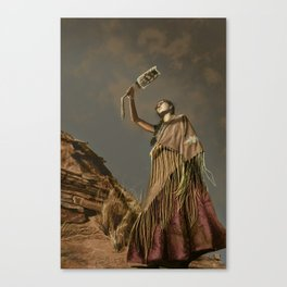 Prayers for Uncle Canvas Print